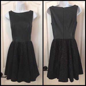 Marciano pleather dress